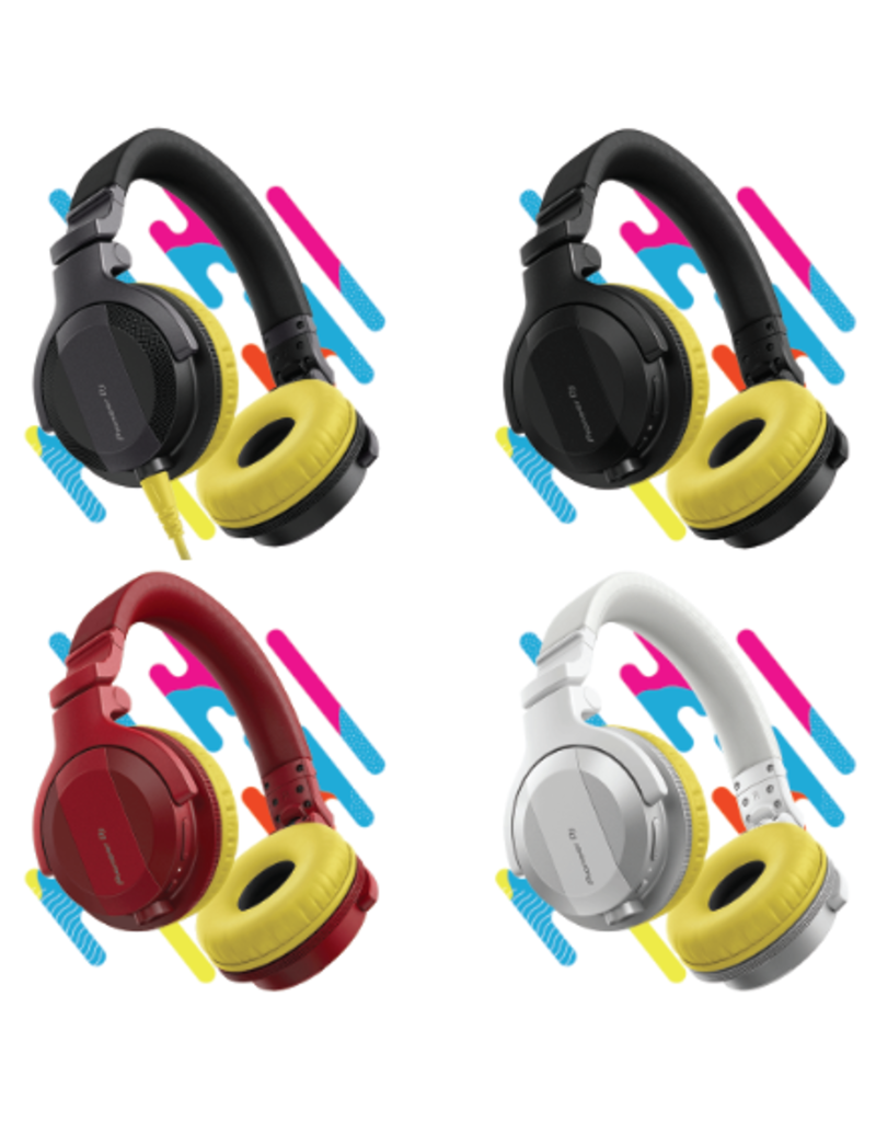 HC-CP08 CUE1 Series Ear Pads and Cord (Yellow) - Pioneer DJ