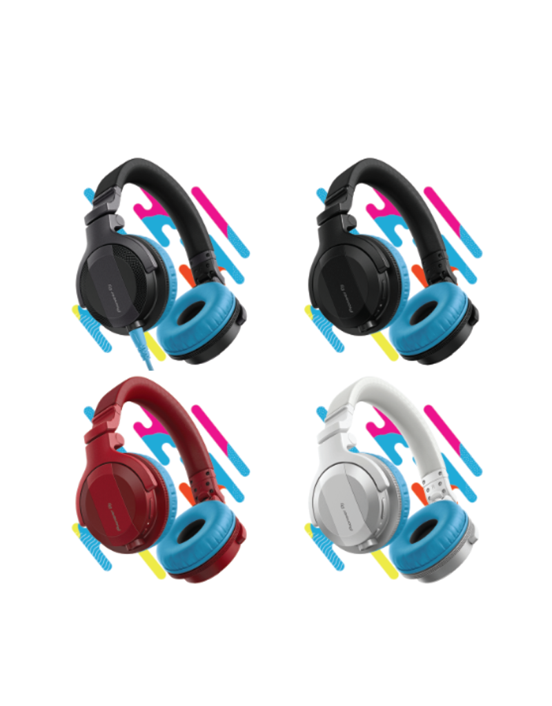 HC-CP08 CUE1 Series Ear Pads and Cord (Blue) - Pioneer DJ