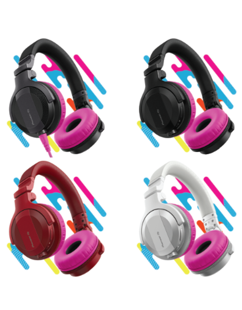 HC-CP08 CUE1 Series Ear Pads and Cord (Pink) - Pioneer DJ
