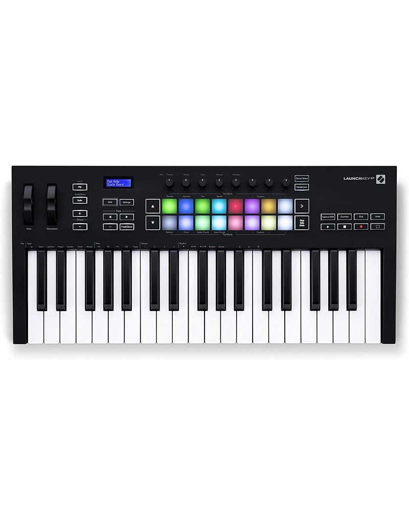 Novation Launchkey 37 Mk3 USB/iOS MIDI Keyboard Controller for Ableton Live