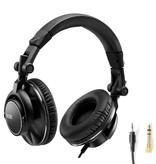 Hercules Hercules HDP DJ60 Premium Closed-back Circumaural Headphones for DJs