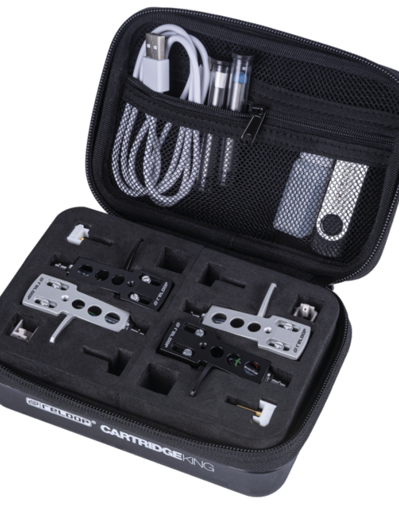 Reloop Cartridge King Storage Case for 4 Needles plus Extra Stylii
