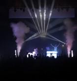 Chauvet DJ Chauvet DJ Geyser T6 RGB LED Illuminated Vertical Fog Machine