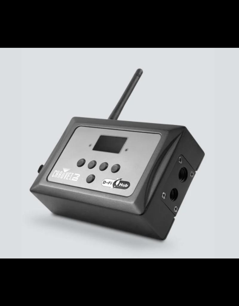 Chauvet DJ Chauvet DJ D-Fi Hub DMX Transmitter or Receiver For Wireless Synchronization