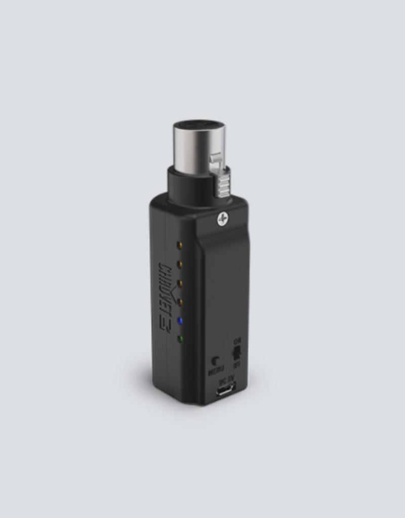 Chauvet DJ Chauvet DJ D-Fi XLR RX Compact Battery-Powered Wireless D-Fi Receiver