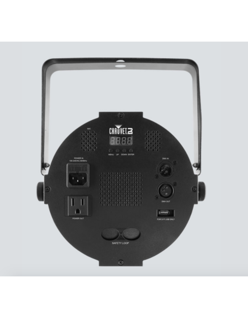 Chauvet DJ Chauvet DJ SlimPAR QUV12 USB High Output RGB+UV LED Washlight D-Fi USB Compatible
