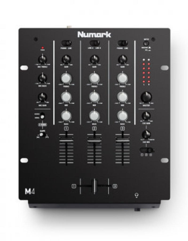 M4 3 Channel Scratch Mixer - Numark