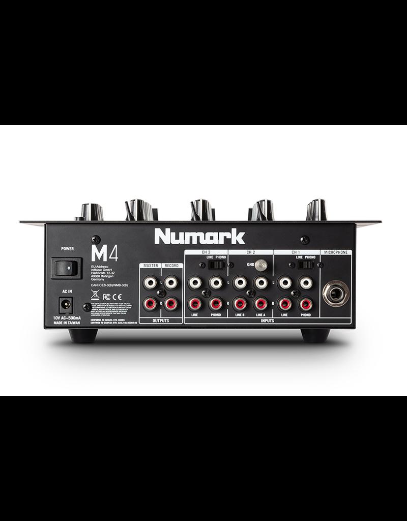 Numark M4 3 Channel Scratch Mixer
