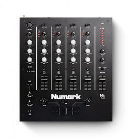 M6 USB 4 Channel Mixer with USB Interface - Numark