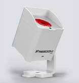 Chauvet DJ Chauvet DJ Freedom H1 White 100% True Wireless Battery Operated LED Wash Lights with Built-in D-Fi Transceiver