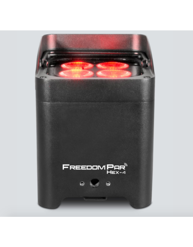 Chauvet DJ Chauvet DJ Freedom Par Hex-4 10-watt RGBAW+UV LEDs Par Light