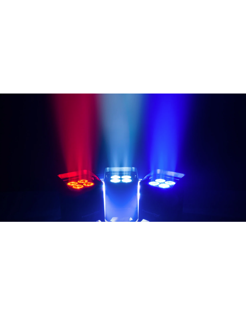 Chauvet DJ Chauvet DJ Freedom Par Quad-4 RGBA 100% Wireless with Rechargeable Battery and Built-in D-Fi Transceiver