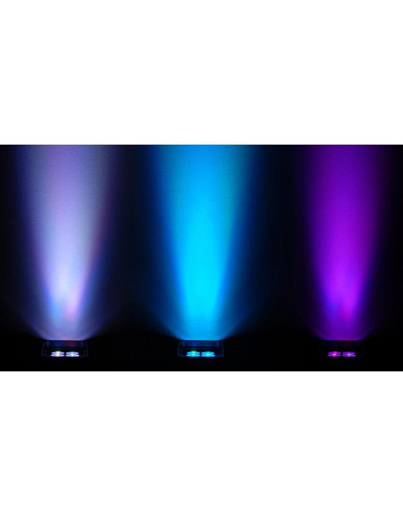 Chauvet DJ Chauvet DJ Freedom Par Quad-4 IP White Outdoor Rated Wireless Battery Operated Quad Color RGBA LED Par