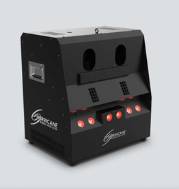 Chauvet DJ Chauvet DJ Hurricane Bubble Haze X2 Q6 Atmospheric Machine Emits Bubbles Haze and Haze Filled Bubbles