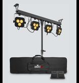 Chauvet DJ Chauvet DJ 4BAR LT QuadBT Pack N Go Wash Lighting with Built In Bluetooth