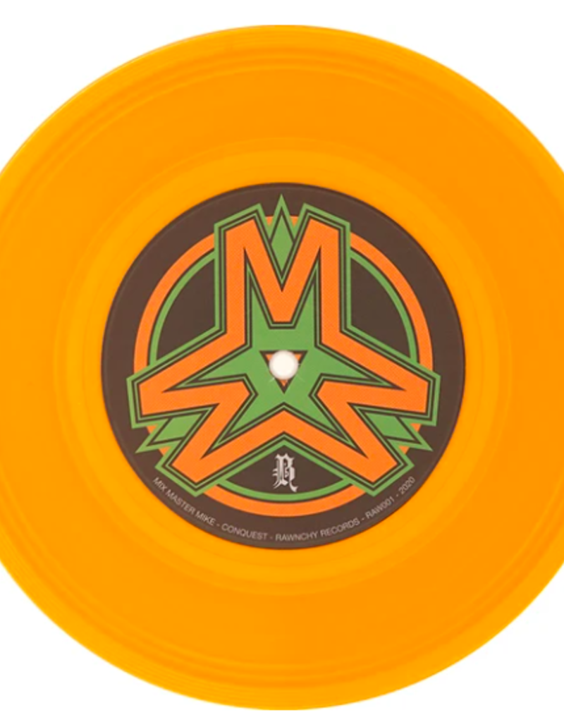 "Rawnchy Records MIX MASTER MIKE: CONQUEST 7"" SCRATCH RECORD"