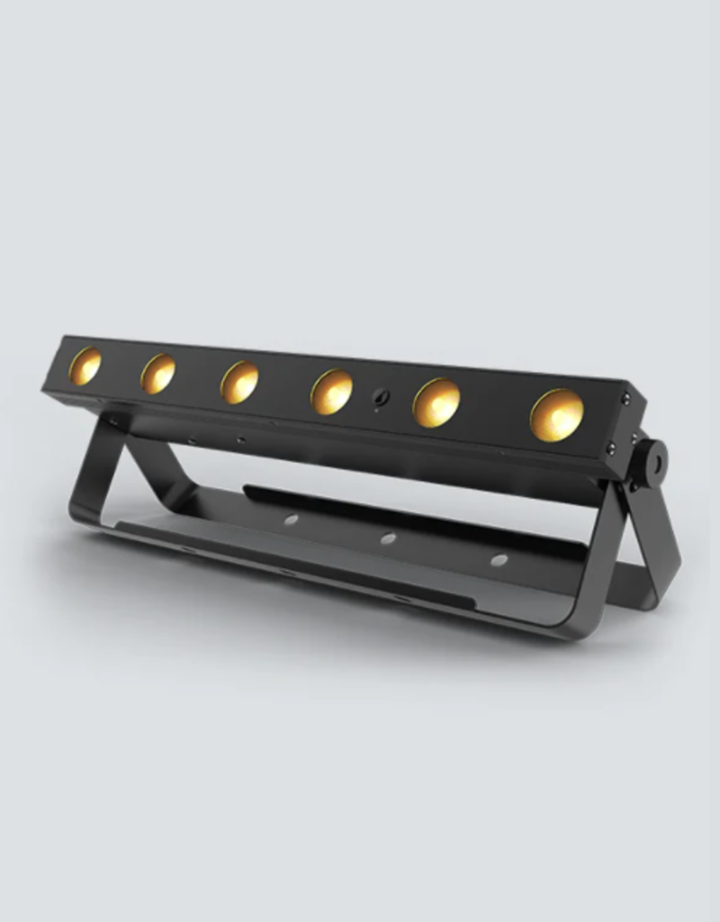 Chauvet DJ Chauvet DJ EZLink Strip Q6BT Wireless Battery Operated Linear Wash Light 6 RGBA LEDs with 3 Zones