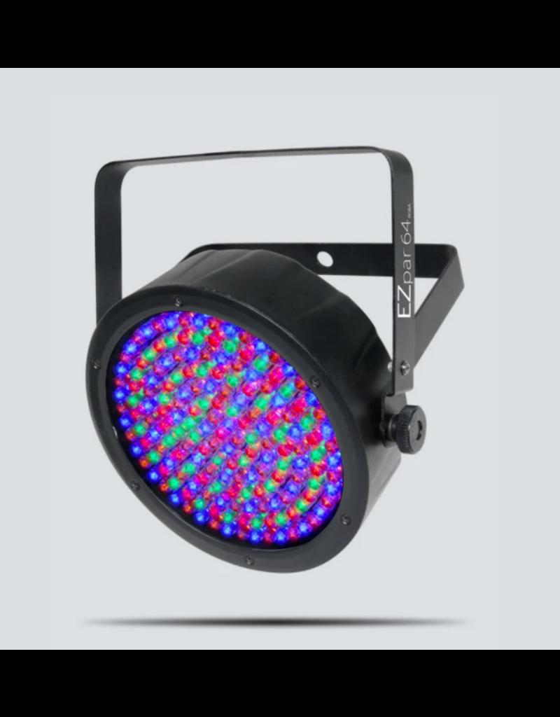 Chauvet DJ Chauvet DJ EZpar 64 RGBA Black Battery Powered Wash Light with 180 RGBA LEDs
