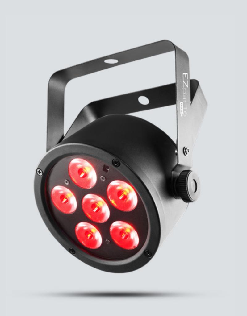 Chauvet DJ Chauvet DJ EZpar T6 USB Battery Operated RGB LED Wash Light with D-Fi USB Compatibility
