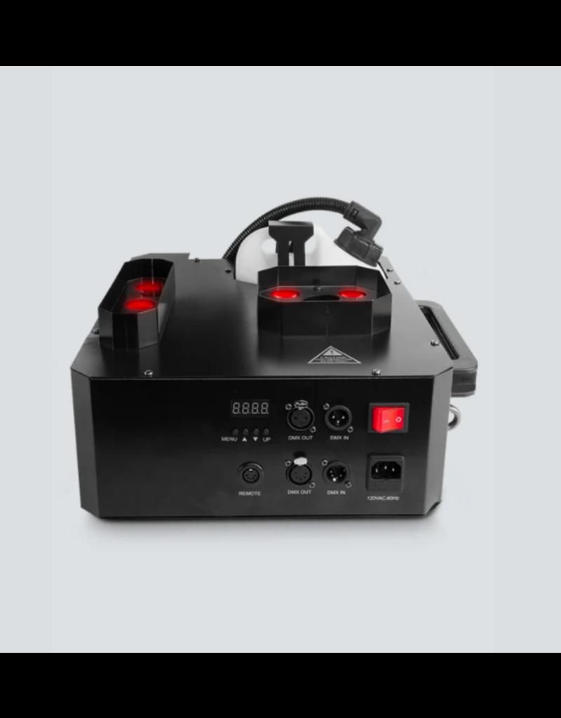 Chauvet DJ Chauvet DJ Geyser P7 Fog Machine with 9 watt RGBA+UV LED Vertical Effect