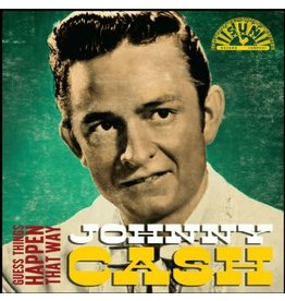 """Crosley Johnny Cash:  Guess Things Happen That Way 3"""" Record"""