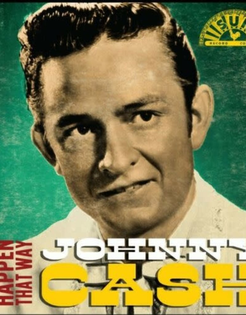 """Crosley Johnny Cash: I Guess Things Happen That Way 3"""" Record"""