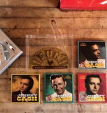 "Crosley Crosley RSD3 Mini Turntable with a Set of 4 Johnny Cash 3"" Records"
