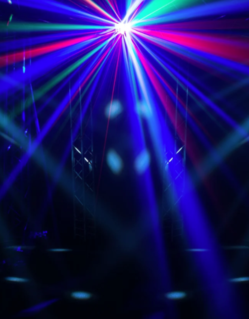 Chauvet DJ Chauvet DJ Kinta FX LED Derby Effect Laser and SMD Strobe