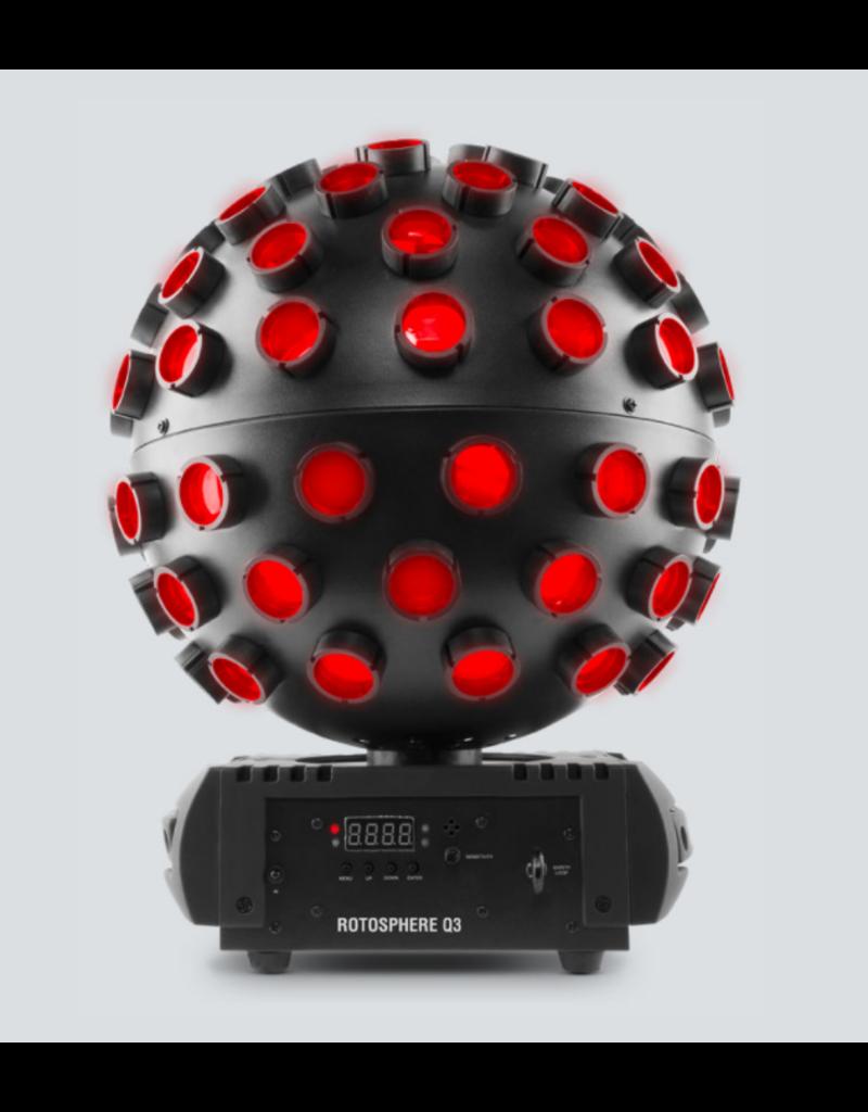 Chauvet DJ Chauvet DJ Rotosphere Q3 Quad Color LED Mirror Ball Simulator