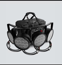 Chauvet DJ Chauvet DJ SlimPACK T12 USB Bundle of 4 Wash Lights DMX Cables and Bag