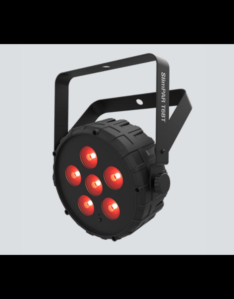 Chauvet DJ Chauvet DJ SlimPAR T6BT High Output RGB Wash Light with Built In Bluetooth
