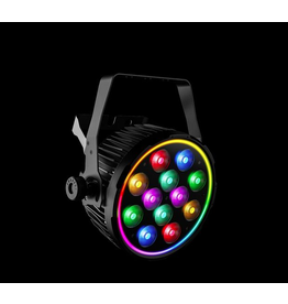 Chauvet DJ Chauvet DJ SlimPAR Pro Pix RGBAW + UV Wash Light with RGB Outer Ring