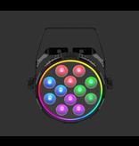 Chauvet DJ Chauvet DJ SlimPAR Pro Pix RGBAW + UV Wash Light with RGB Outer Ring