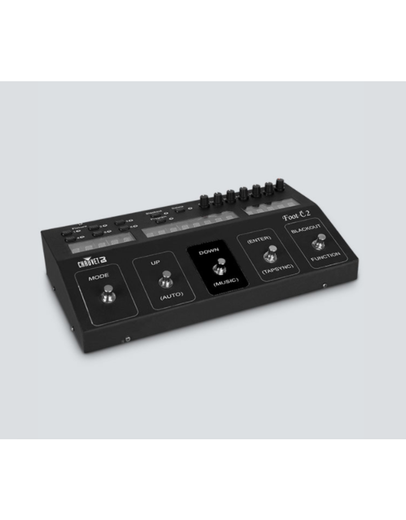 Chauvet DJ Chauvet DJ Foot-C 2 Full Featured Compact DMX Foot Controller with 36 Channels