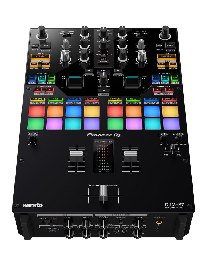 DJM-S7 Scratch Style 2 Channel Performance DJ Mixer - Pioneer DJ