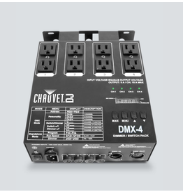 Chauvet DJ Chauvet DJ DMX-4  4-Channel Dimmer/Relay Pack Providing DMX Control