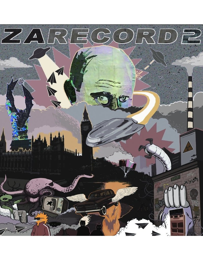 "Cut & Paste Zarecord 2: NMCP Studio 12"" Scratch Record - Cut & Paste Records"