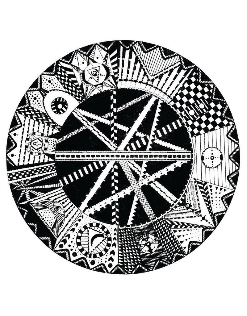 "Cut & Paste 7 Steps Of Alchemy: Simiah 7"" Scratch Record - Cut & Paste Records"