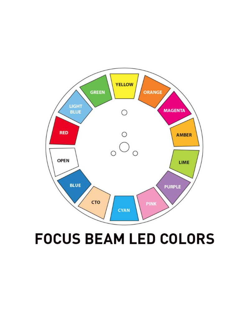 ADJ ADJ Focus Beam LED 80W Beam Moving Head with a 2.5 Degree Beam