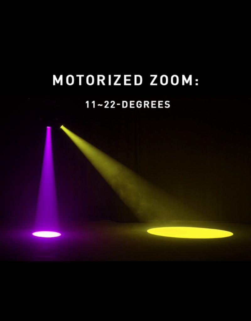 ADJ ADJ Focus Spot 4Z 200W LED Moving Head Spot Fixture with Motorized Focus & Motorized Zoom