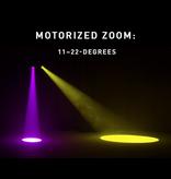 ADJ ADJ Focus Spot 4Z Pearl 200W LED Moving Head Spot Fixture with Motorized Focus & Motorized Zoom