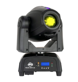 ADJ ADJ Focus Spot 2X 100W LED Moving Head with a 3W UV LED Included