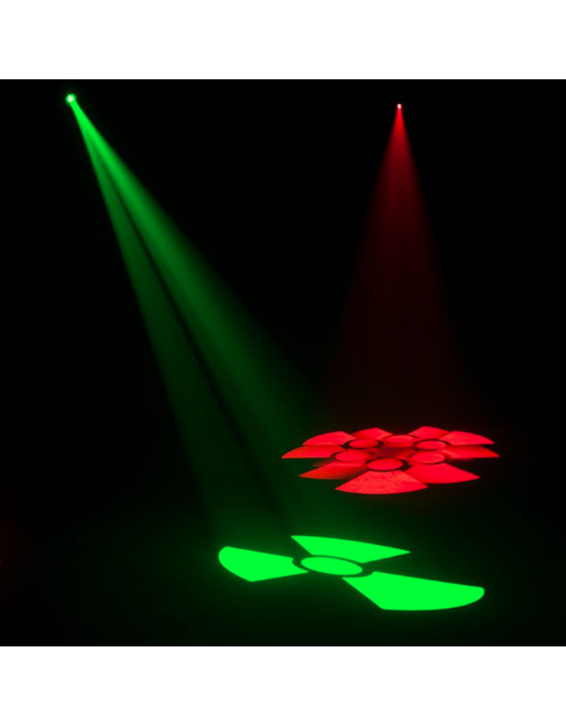 ADJ ADJ Focus Spot 2X 100W LED Moving Head with a 3W UV LED Included
