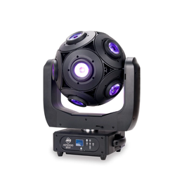 ADJ ADJ Asteroid 1200 180w RGBW LED Spherical Centerpiece Effect with 360 Degree Continuous Rotation