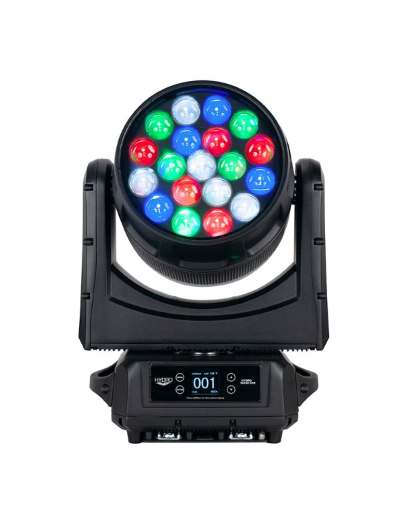 ADJ ADJ Hydro Wash X19 IP65 Outdoor Rated Moving Head Wash with 19x 40w RGBW LEDs