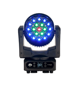 ADJ ADJ Vizi Wash Z19 Professional 380w Moving Head Wash Fixture with Variable Motorized Zoom