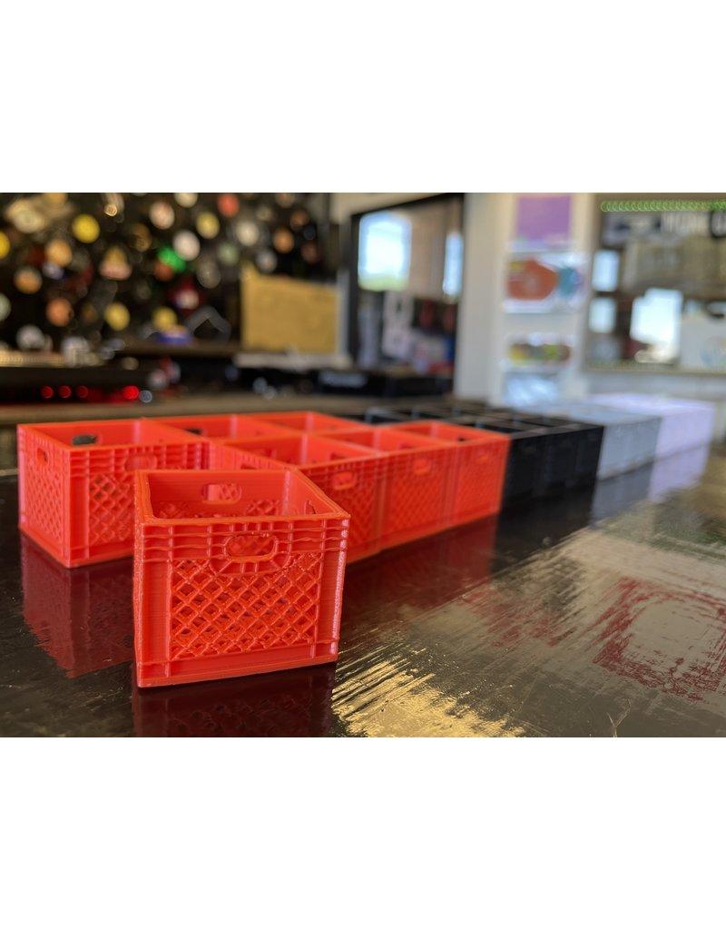 "Mile High DJ Supply Mini 1"" Plastic Record Crates"