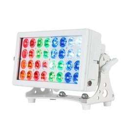 ADJ ADJ 32 HEX Panel IP Pearl Wash / Blinder / Color Strobe Fixture IP65 Indoor & Outdoor Use