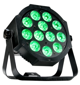 ADJ ADJ Mega 64 Profile Plus Compact Low Profile Wash Fixture with 12 x RGB+UV LEDs