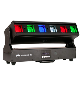 ADJ ADJ Allegro Z6 Linear Fixture with 6 Lenses Motorized Zoom and Tilt